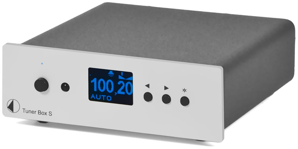 FM/AM Тюнер Pro-ject Tuner Box S Silver