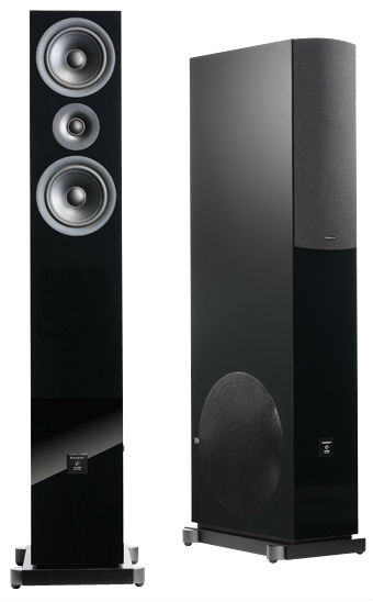 Напольная акустика Audio pro  Image Blue Diamond V3 Black High Gloss