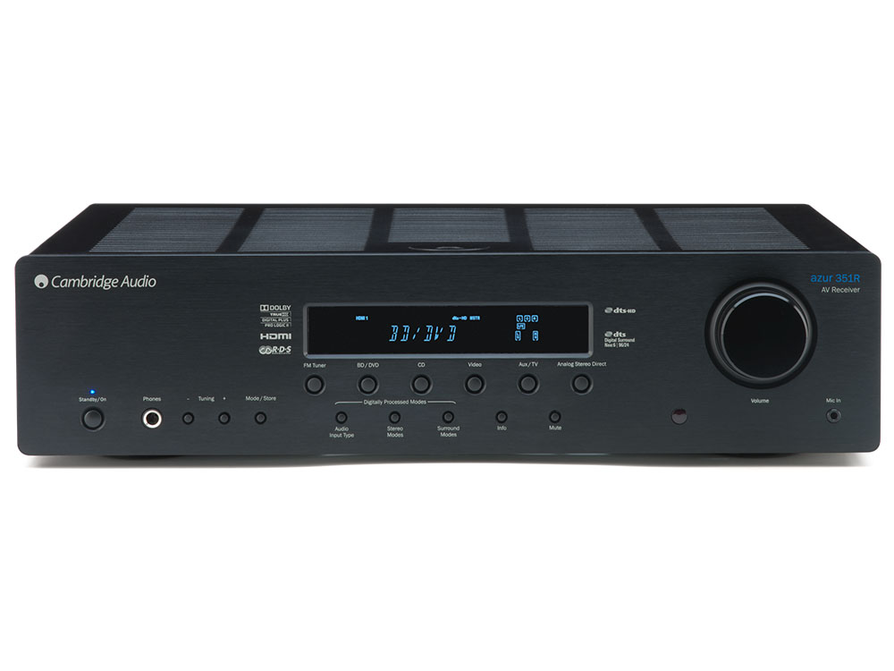 AV-ресивер Cambridge Audio  Azur 351R Black